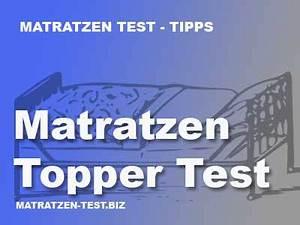 Beste Matratzen Im Test : matratzen topper test und erfahrungen ~ Bigdaddyawards.com Haus und Dekorationen
