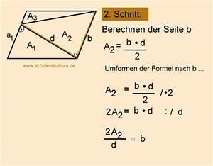 Höhe Vom Trapez Berechnen : geometrie fl cheninhalte von vielecken berechnen zerlegung in dreiecke u trapeze ~ Themetempest.com Abrechnung