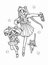 Sailor Moon Coloring sketch template