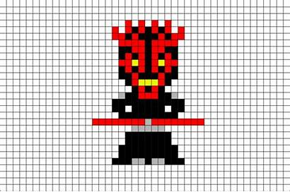 Maul Darth Pixel Template 8bit