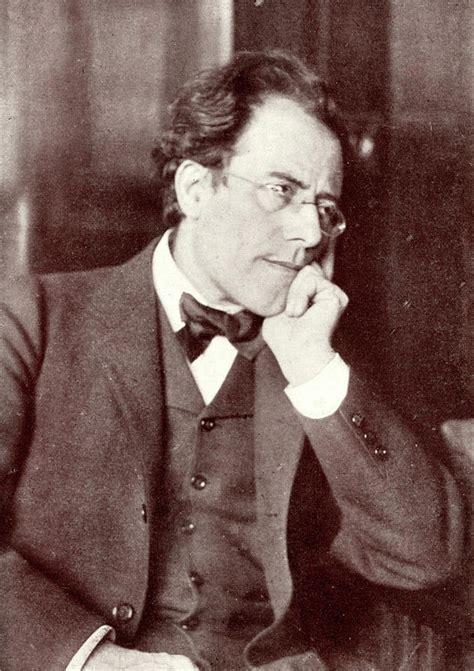Gustav Mahler Austrian Composer Photograph by English School