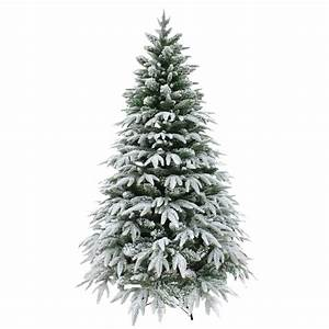 Luxury Snow Tipped Christmas Tree Artificial Pine Indoor ...