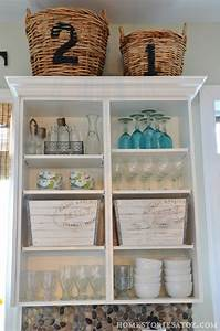 kitchen shelves - Home Stories A to Z