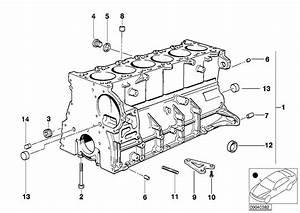 Bmw 323i Oil Spraying Nozzle  Engine  Block
