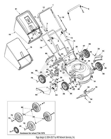 2002 Mtd Wiring Diagram by Mtd 11a B13m229 Manual Auto Electrical Wiring Diagram