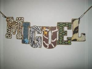 private listing for sara nelsonjungle safari wooden With making wooden letters for nursery