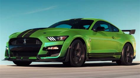 How Much Does A Ford Shelby Gt500 Cost by Loaded 2020 Ford Shelby Gt500 Mustang Costs Nearly