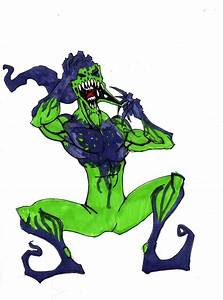 symbiote green goblin by hulkling on DeviantArt