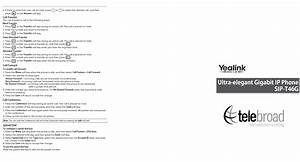 Yealink T28p Quick Reference Guide