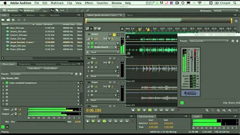 Multitrack Recording & Mixing Basics In Adobe Audition For