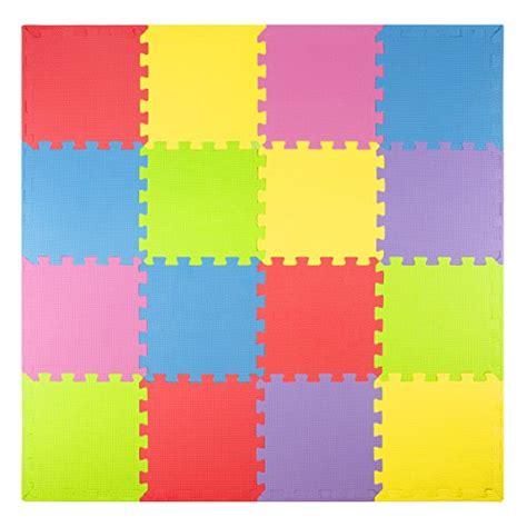 34 foam play mats 16 tiles borders puzzle