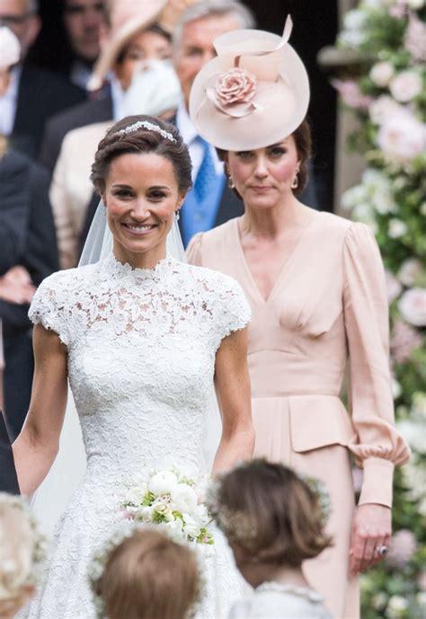 kate middleton alexander mcqueen dress  pippas wedding