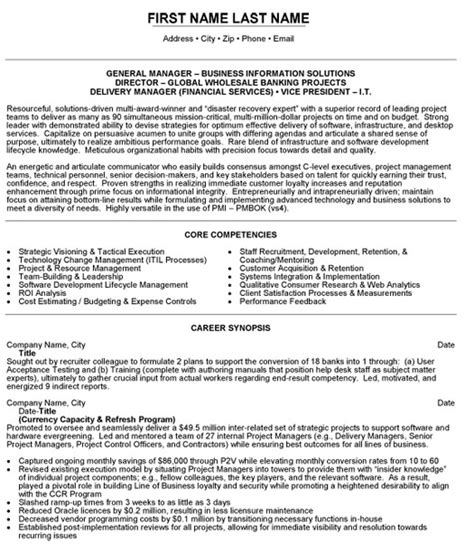 director wholesale banking resume sle template