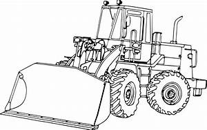 Wheel Loader Drawing At Getdrawings