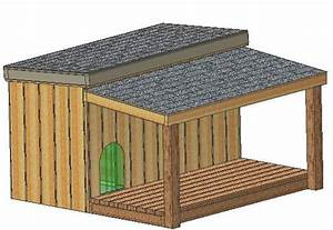 Insulated dog house plans 15 total large dog with for Large dog house blueprints