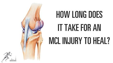 how long does it take an mcl injury of the knee to heal