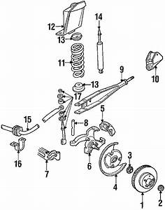 E8tz1104a - Ford Hub Assembly