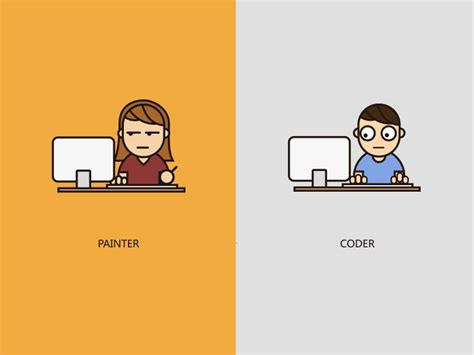 Supports both and animated, interactive graphics and declarative scripting. Keep Working by Jesse Luo on Dribbble