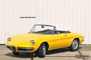 Alfa Romeo Spider 1968 : 1968 alfa romeo duetto spider 1600 car photo and specs ~ Medecine-chirurgie-esthetiques.com Avis de Voitures