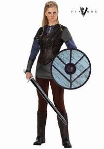 Vikings Lagertha Lothbrok Costume for Women