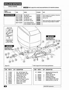 Photo Of 1998 Ocean Pro 150hp Sea Star Steering Bolt Location - The Hull Truth
