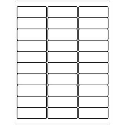 address labels       sheet