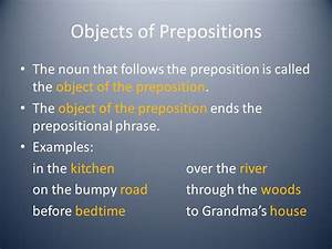 Prepositions Chapter ppt download