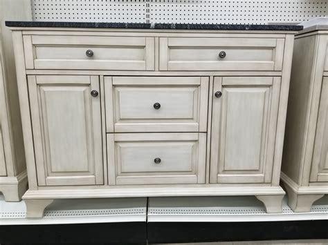 corsicana antique white vanity builders surplus