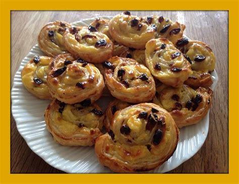 aux raisins avec pate feuilletee pains aux raisins p 226 te feuillet 233 e fran 231 ois