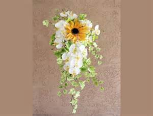where to buy corsage and boutonniere sunflower bouquet orchid cascading bridal bouquet 2416967