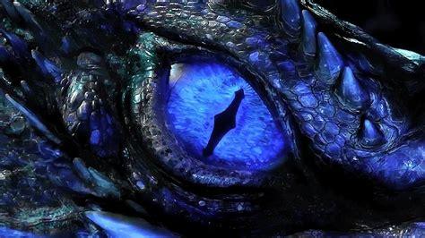 Blue Eyes White Dragon Background Dragon Eye Wallpaper Wallpapersafari