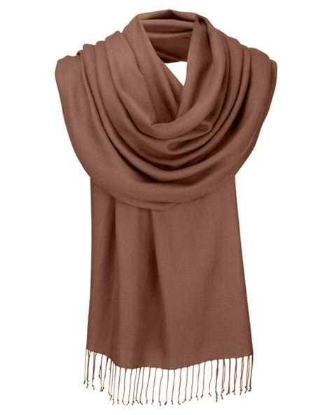 felisha pashmina brown pashmina plain rust brown shawl wrap fashion scarf