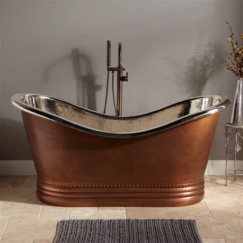 Copper Tub by Signature Hardware Copper Slipper Tub Nickel