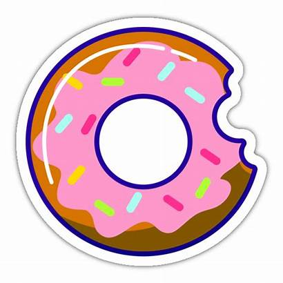Donut Stickker Rozet
