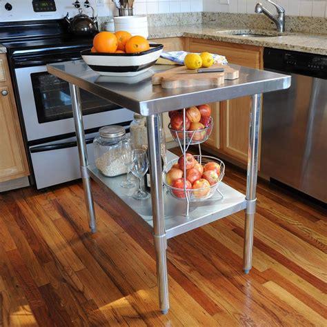 sportsman stainless steel kitchen utility table sswtable