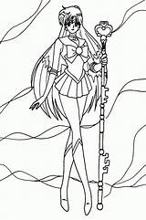 Sailor Coloring Moon Pluto Pages Printable Saturn Cool Printables Crystal Uranus Neptune Drawing Tuxedo Mask Colouring Manga Adult Moons Hdw sketch template