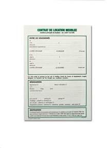 Contrat De Location Non Meublée Gratuit by Modele Bail Location Meuble 1 An Document Online