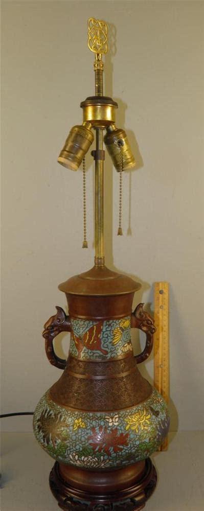 antique bronze table l antique asian chleve cloisonne table l vase bronze