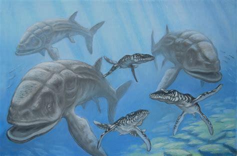 We're on much firmer ground when it comes to leedsichthys'. Leedsichthys, Liopleurodon. by ABelov2014 on DeviantArt