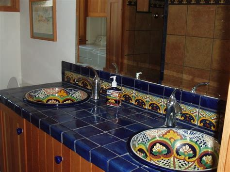 mexican tile backsplash mexican tile backsplash colors cabinet hardware