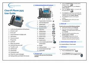 Cisco Ip Phone 7975 User Guide
