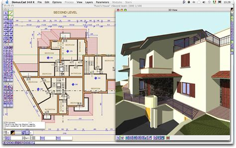Home Design Drafting Software : Screenshot, Review, Downloads Of Shareware Domus.cad
