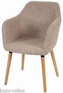 Retro Esstisch Stühle : details zu esszimmerstuhl mit armlehne sessel esszimmer st hle stuhl gepolstert retro rikka ~ Markanthonyermac.com Haus und Dekorationen