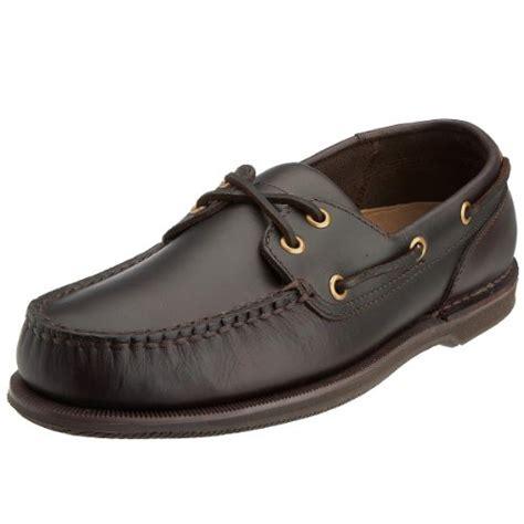 rockport men s perth boat shoe dark brown k54692 10 5 uk