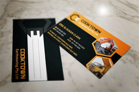 Elegant, Playful, Construction Business Card Design For Business Card Price Us Printer Macarthur What Weight Is Paper Standard Visiting Png Printers In Lagos Hermes Holder Quality