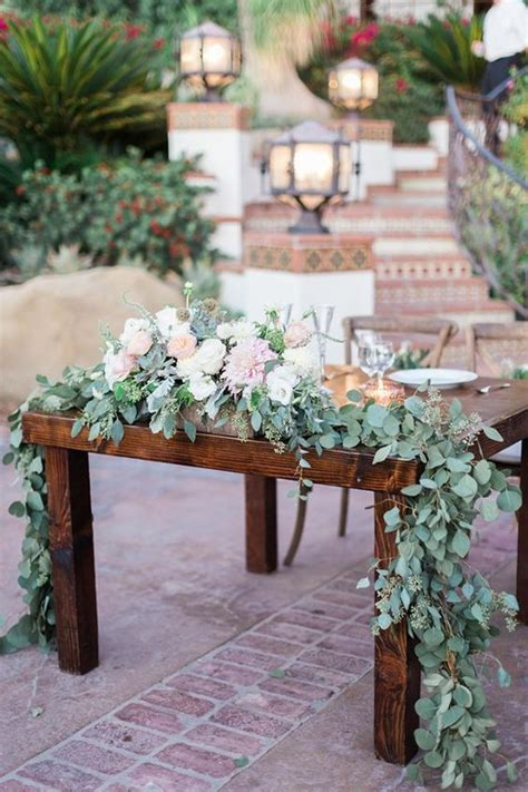 60 Darling Sweetheart Table Ideas Wedding Decorations