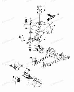 Polaris Atv 2002 Oem Parts Diagram For Fuel Tank