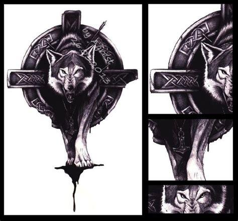 celtic wolf tattoo tattoos pinterest celtic wolf