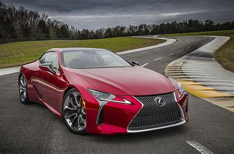 Lexus Lc 500 Luxury Coupe To Debut At Detroit Auto Show