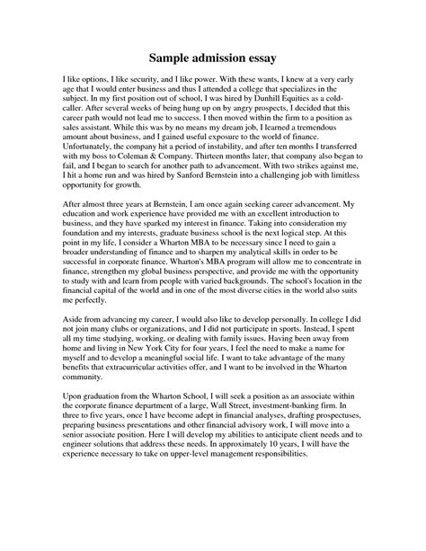 Mba Resume Book by Business School Entry Essays